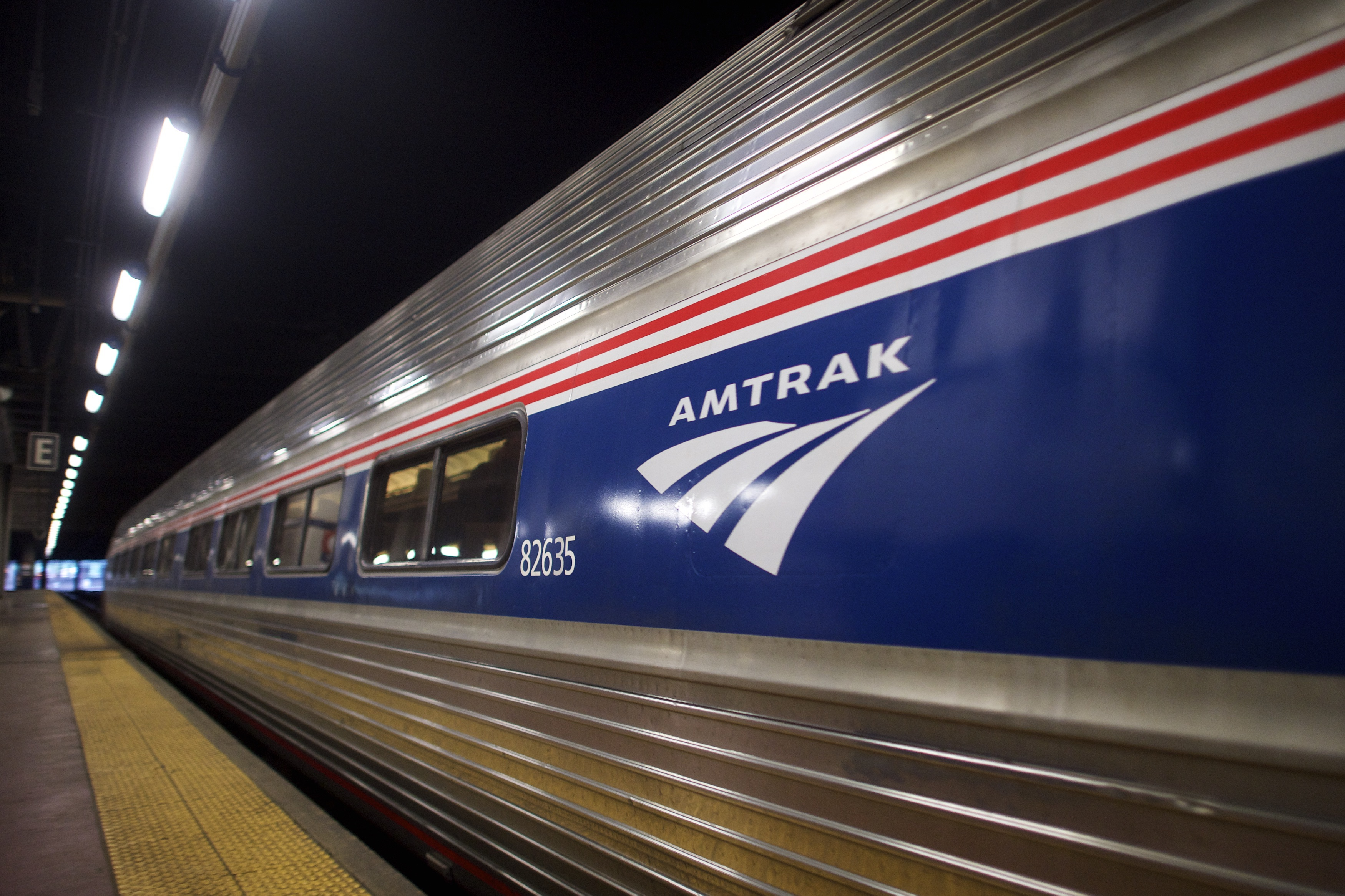 La East Coast con i treni Amtrak da Washington a New York.